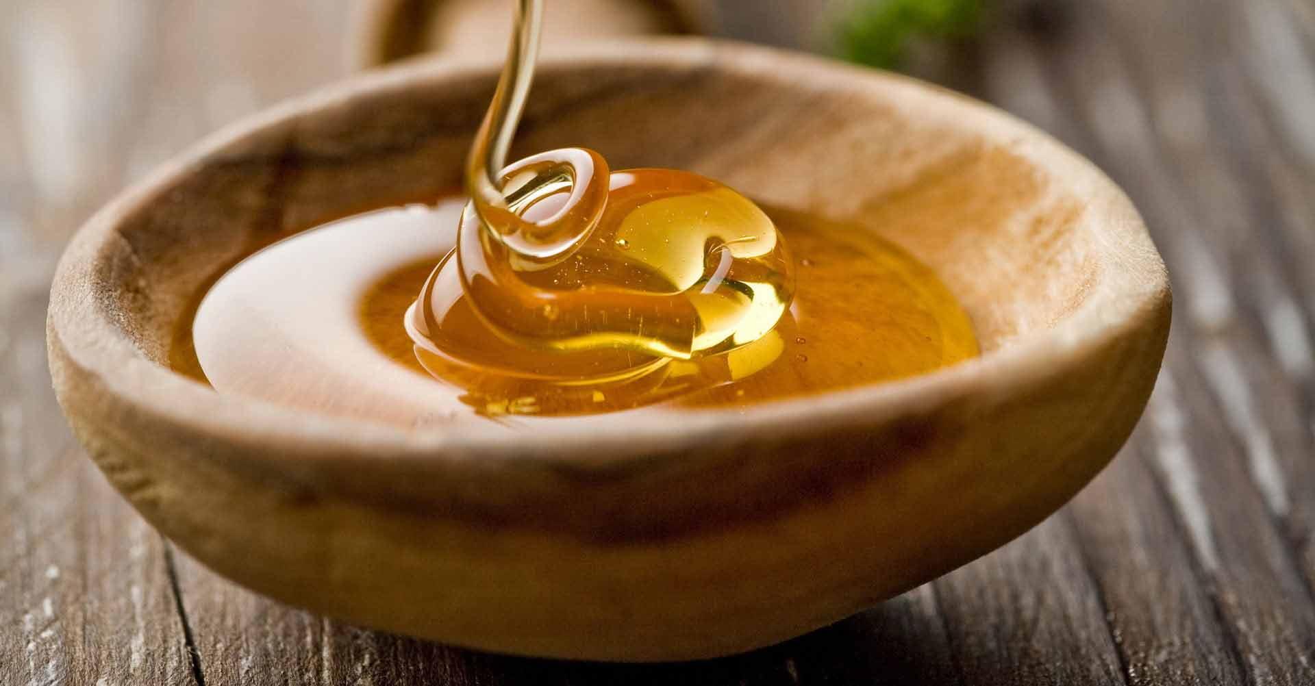 мед в плошке