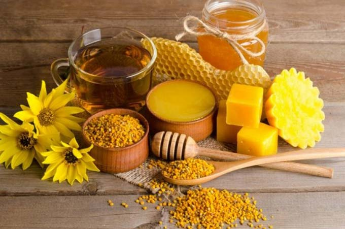 Лечение с применением продуктов пчеловодства