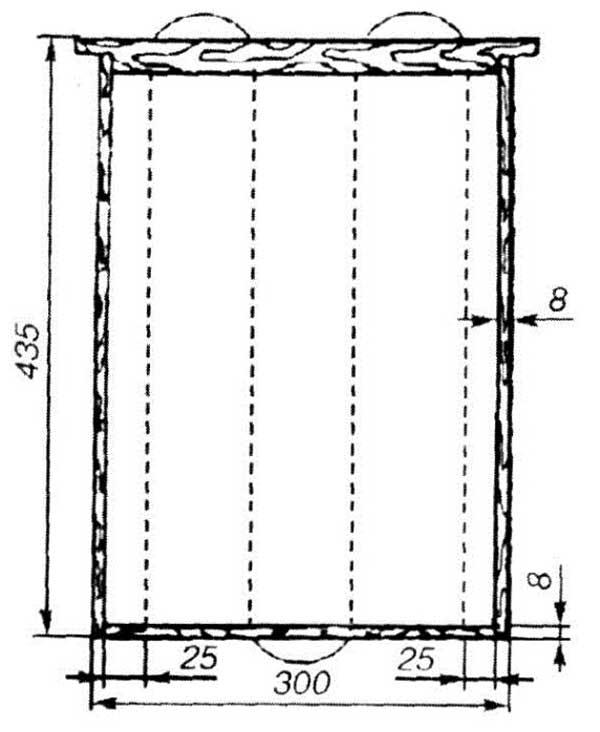 схема рамки