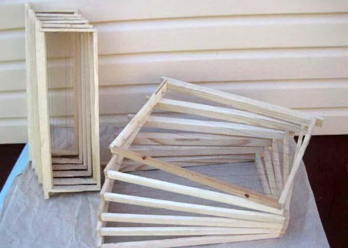 Как изготовить ульевые рамки своими руками