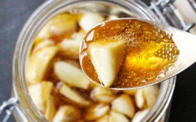 Как применяется мед с чесноком