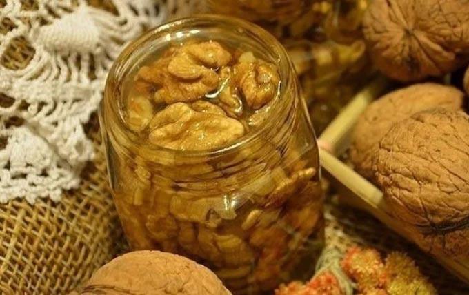 мед+орехи